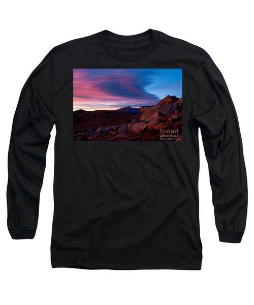 View To Long's Peak Long Sleeve T-Shirt