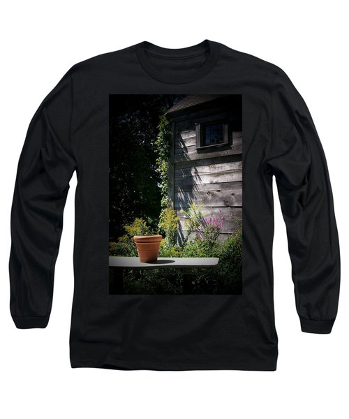 Long Sleeve T-Shirt featuring the digital art Villagio by Barbara S Nickerson