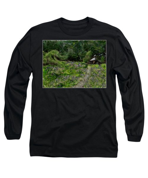 A Lupine Tale  Vincents View Long Sleeve T-Shirt