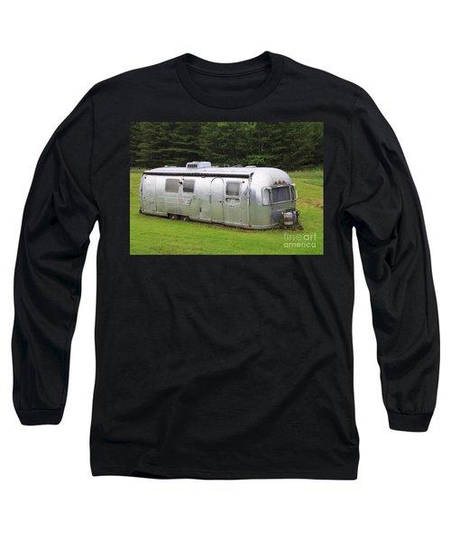 Vintage Airstream Trailer Long Sleeve T-Shirt