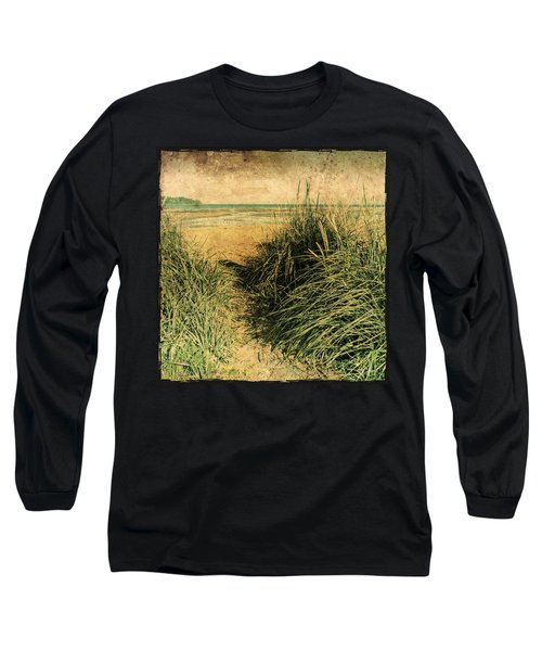 Vintage Beach  Long Sleeve T-Shirt