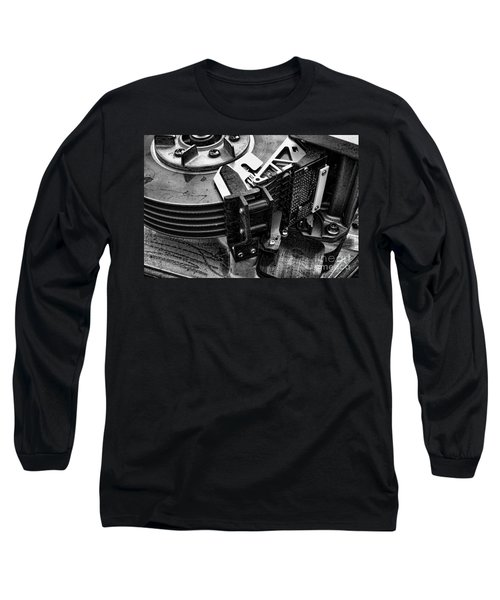 Vintage Hard Drive Long Sleeve T-Shirt