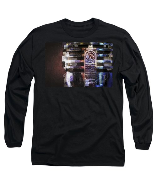 Vintage Microphone Painted Long Sleeve T-Shirt
