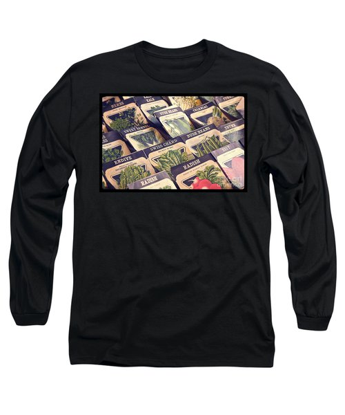 Vintage Seed Packages Long Sleeve T-Shirt
