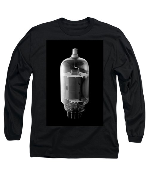Long Sleeve T-Shirt featuring the photograph Vintage Vacuum Tube by Jim Hughes