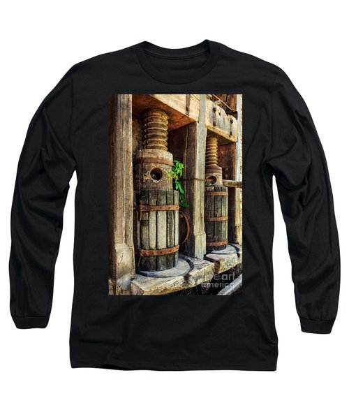 Vintage Wine Press Long Sleeve T-Shirt