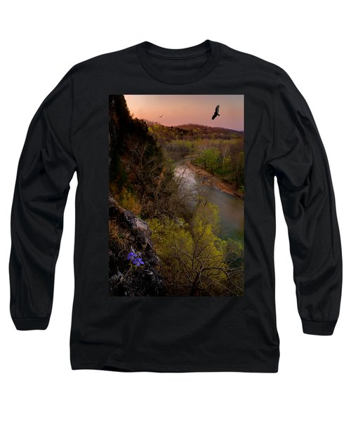 Violet And Vultures Long Sleeve T-Shirt