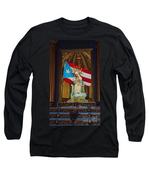 Virgin Mary In Church Long Sleeve T-Shirt