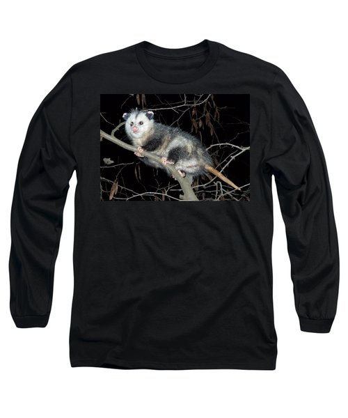 Virginia Opossum Long Sleeve T-Shirt