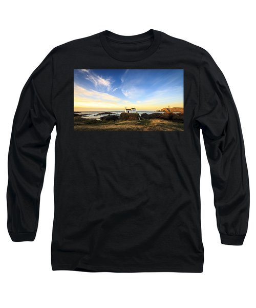 Virxe Do Porto Meiras Galicia Spain Long Sleeve T-Shirt by Pablo Avanzini