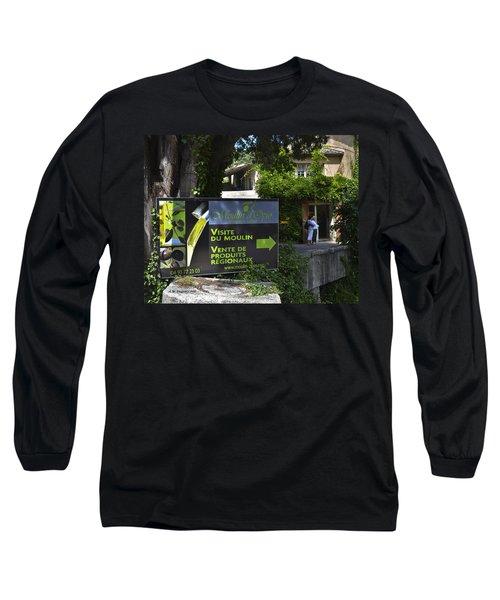 Long Sleeve T-Shirt featuring the photograph Visite Du Moulin by Allen Sheffield