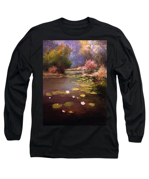 Voronezh River Long Sleeve T-Shirt by Mikhail Savchenko