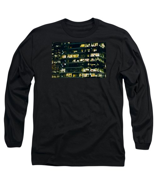 Long Sleeve T-Shirt featuring the photograph Voyeuristic Work Cclxvii by Amyn Nasser