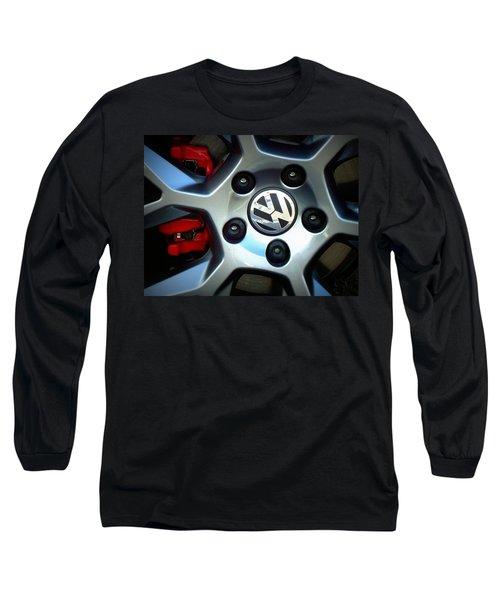 Vw Gti Wheel Long Sleeve T-Shirt
