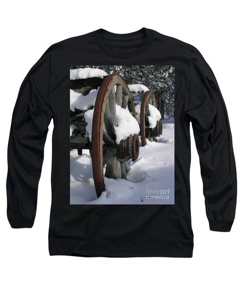 Long Sleeve T-Shirt featuring the photograph Wagons West by Jennifer Lake
