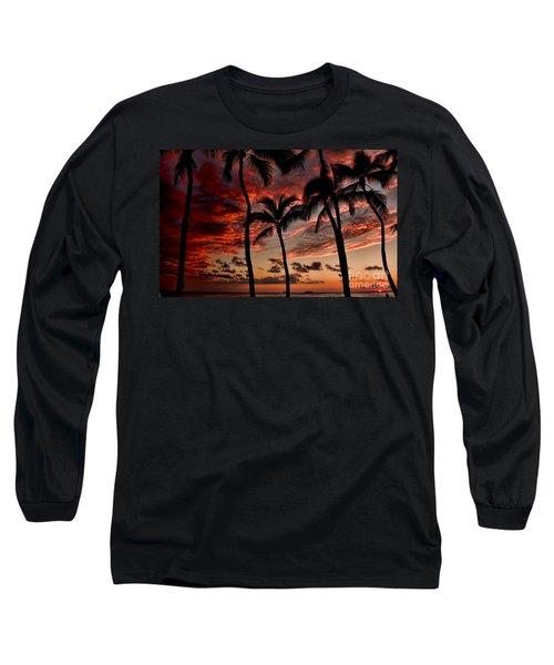 Waikiki Sunset Long Sleeve T-Shirt