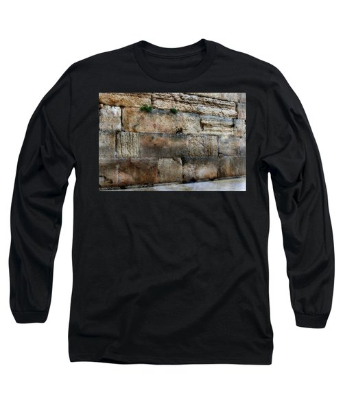 Long Sleeve T-Shirt featuring the photograph Wailing Wall In Israel by Doc Braham