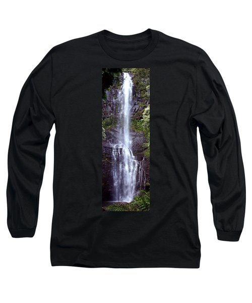 Wailua Falls Maui Hawaii Long Sleeve T-Shirt