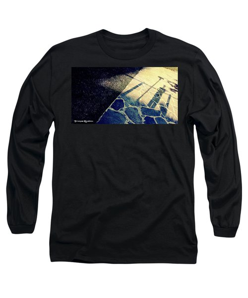 Long Sleeve T-Shirt featuring the photograph Wait In The Shade by Stwayne Keubrick