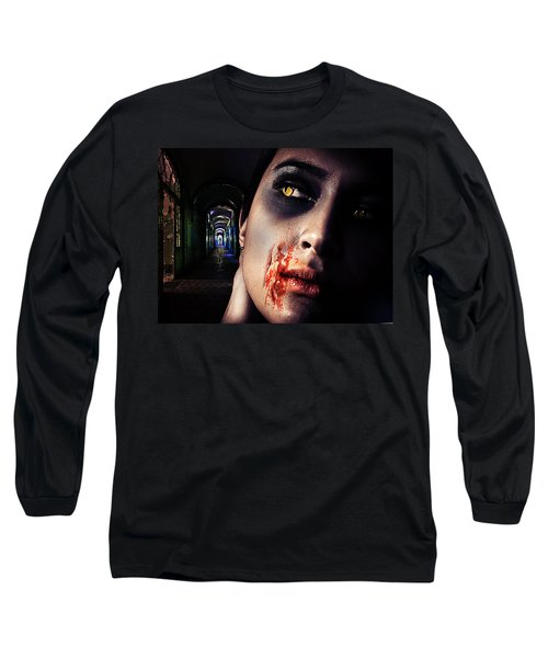 Waiting For You Long Sleeve T-Shirt by Nathan Wright