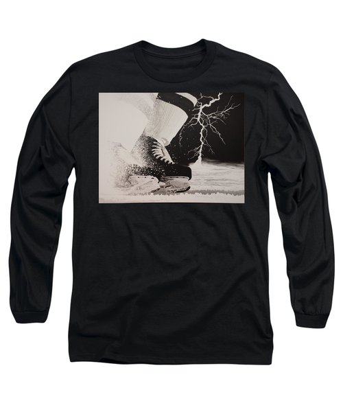 Waiting On The Thunder Long Sleeve T-Shirt