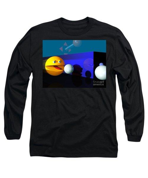 Long Sleeve T-Shirt featuring the digital art Waka Waka Waka by Tony Cooper