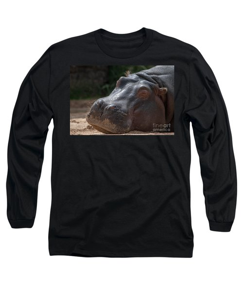 Wake Me When Its Over Long Sleeve T-Shirt by Ray Warren
