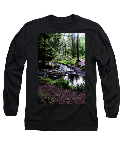 Walk By The Water Long Sleeve T-Shirt
