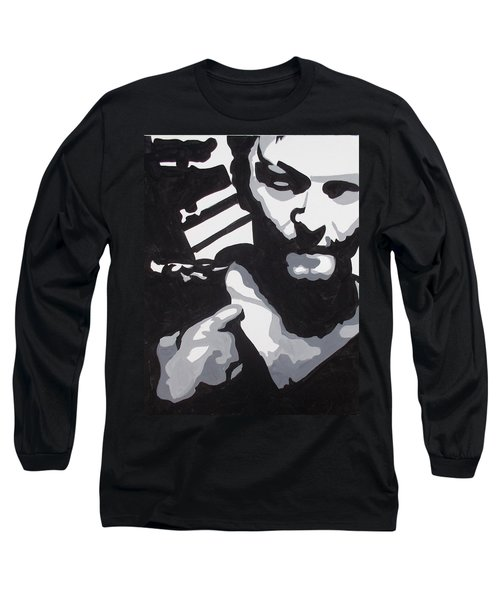 Walking Dead Daryl Close Long Sleeve T-Shirt