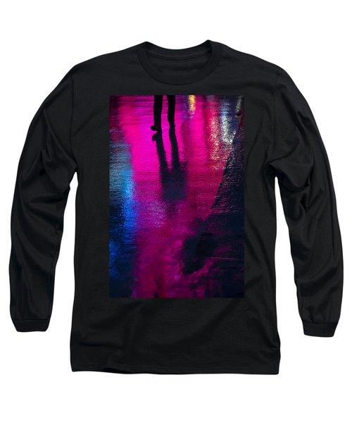 Walking In The Rain Long Sleeve T-Shirt