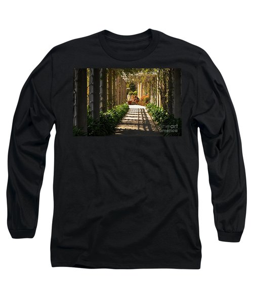 Walkway Long Sleeve T-Shirt by Debby Pueschel