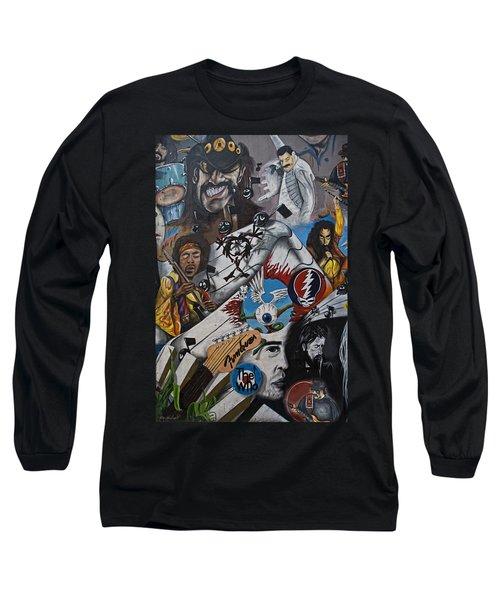 Wall-art 001 Long Sleeve T-Shirt