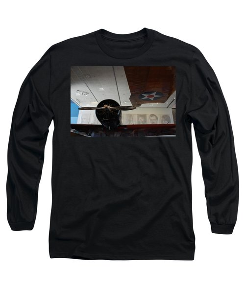 Wall Of Great Aviators Long Sleeve T-Shirt