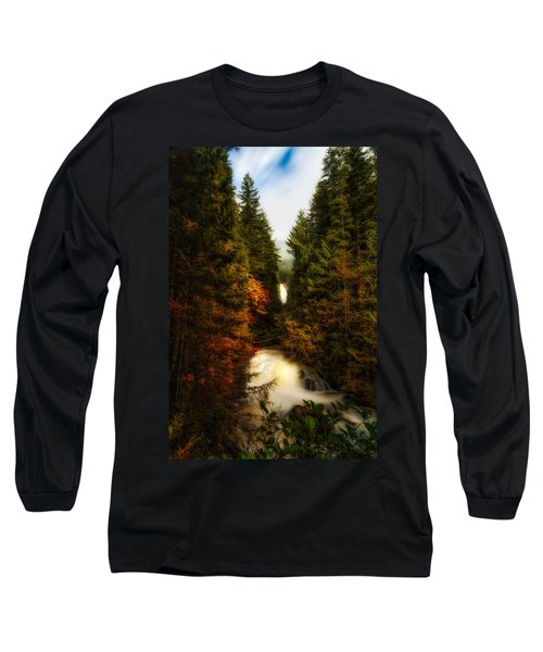 Wallace Fall North Fork Long Sleeve T-Shirt by James Heckt