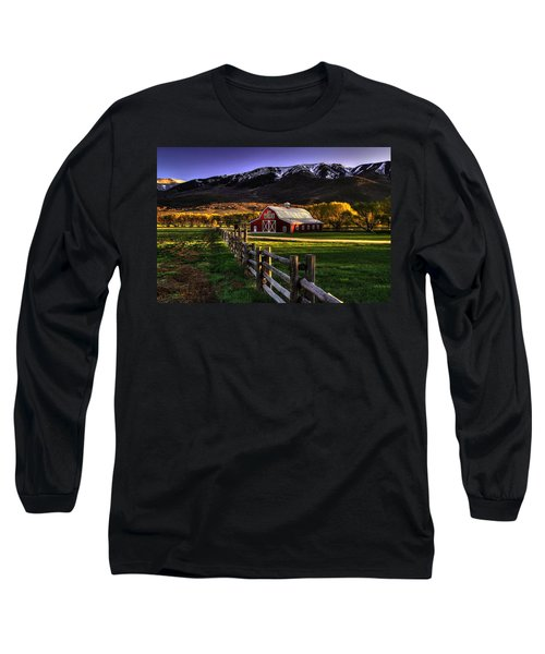 Wallsburg Red Barn Long Sleeve T-Shirt