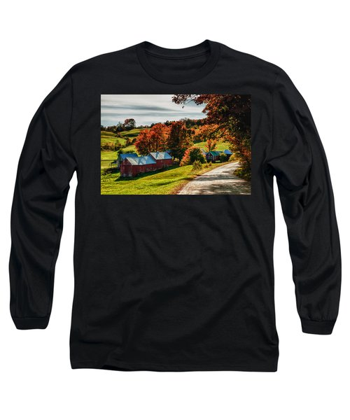 Wandering Down The Road Long Sleeve T-Shirt