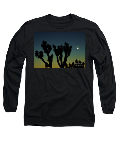 Long Sleeve T-Shirt featuring the photograph Waning by Angela J Wright
