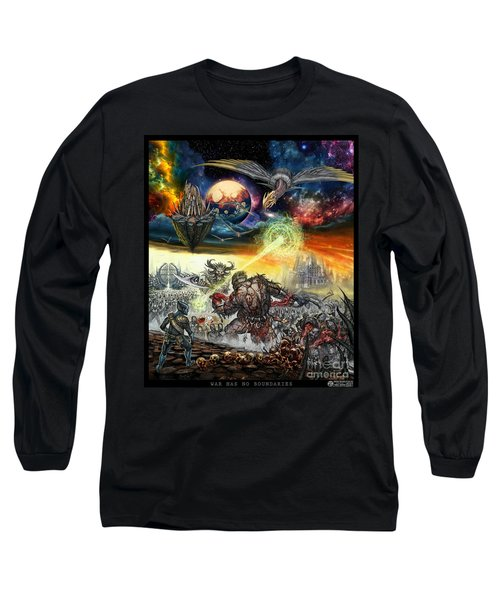 War Has No Boundaries  Long Sleeve T-Shirt