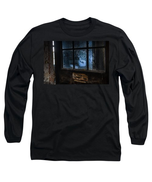 Long Sleeve T-Shirt featuring the photograph Ward Personnel Only by Gary Heller