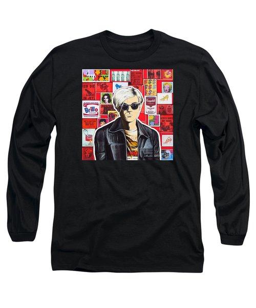Warhol Long Sleeve T-Shirt by Joseph Sonday
