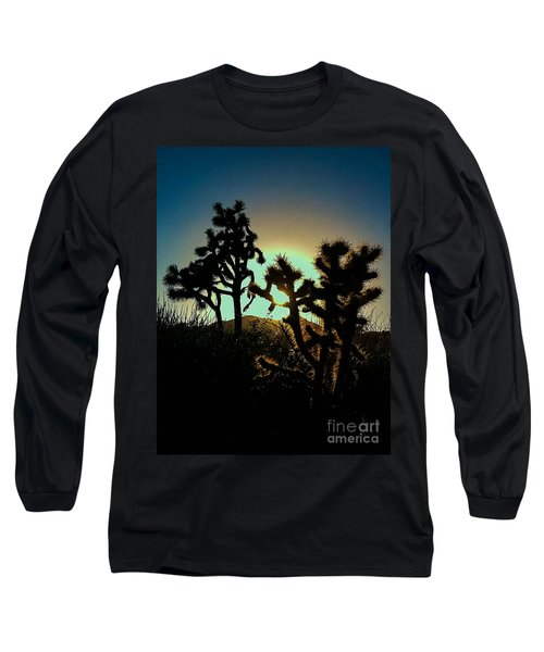 Warmed By The Golden One Long Sleeve T-Shirt by Angela J Wright