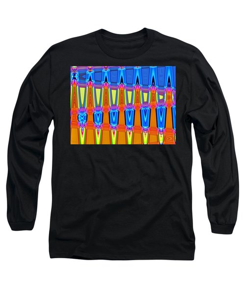 Warp Seven Long Sleeve T-Shirt by Ludwig Keck
