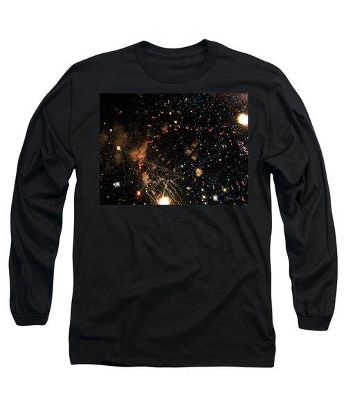 Warp Speed Long Sleeve T-Shirt by Cynthia Lassiter
