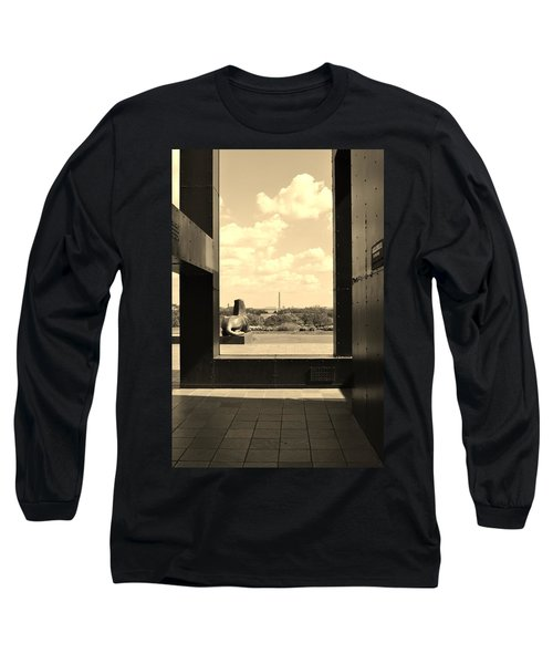Long Sleeve T-Shirt featuring the photograph Washington Dc Framed by Jean Goodwin Brooks