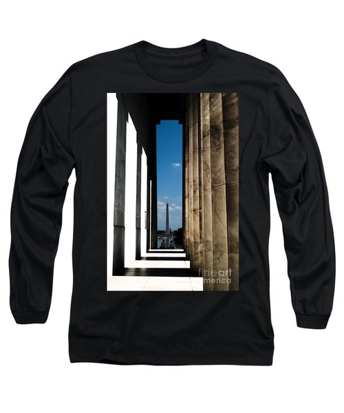 Washington Monument Color Long Sleeve T-Shirt
