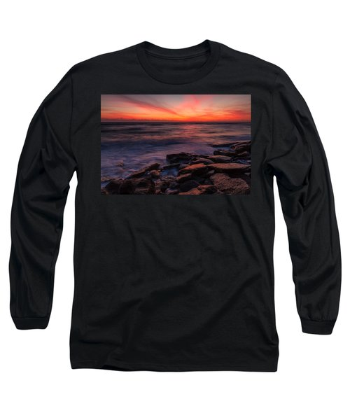 Washington Oaks Winter Sunrise Long Sleeve T-Shirt