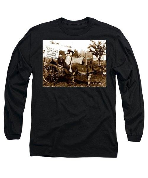 Washington State Pioneer Long Sleeve T-Shirt