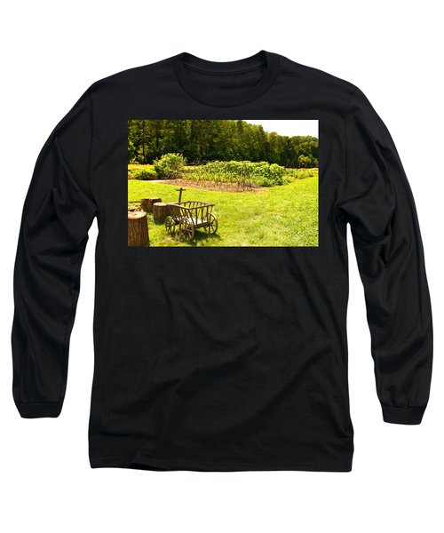 George Washington's Garden Long Sleeve T-Shirt