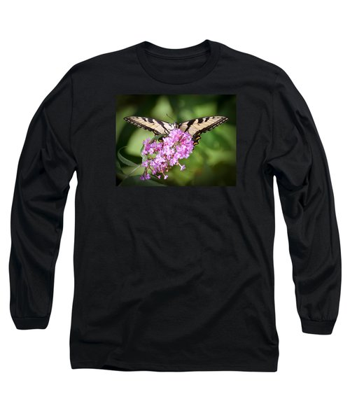 Watching Long Sleeve T-Shirt by Kerri Farley