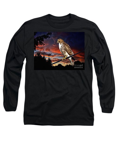 Watching The Sun Set Long Sleeve T-Shirt